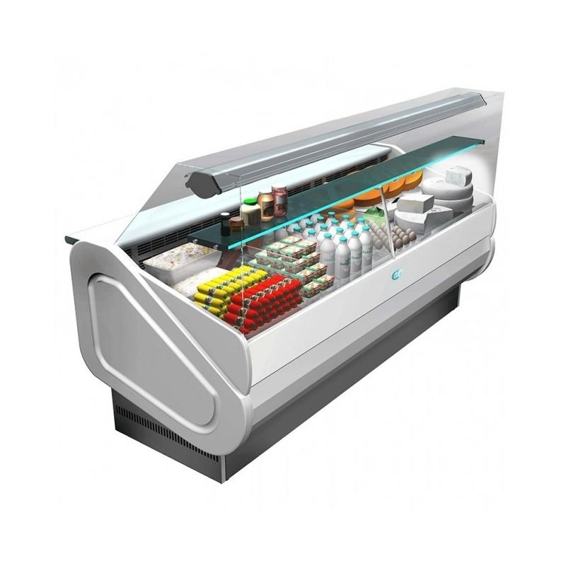 DAP - Vitrine réfrigérée 1000 service arrière / vitrage droit