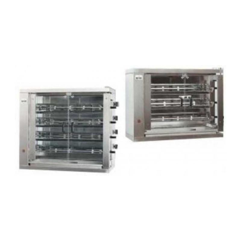 MCM - Rôtissoire verticale électrique 4 broches