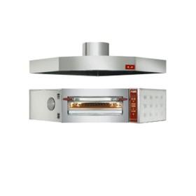 DIAMOND - Four électronique d'angle 1 chambre, 8 pizzas D. 350 mm