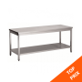 CHR-Avenue - Table inox démontable