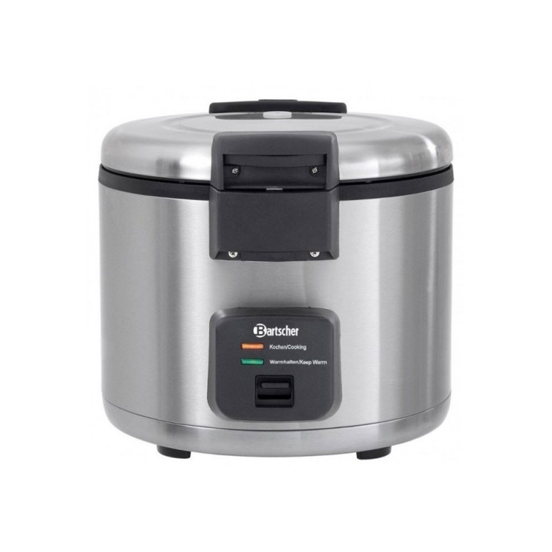 BARTSCHER - Cuiseur à riz - Capacité 8 L - Inox - Cooking / Keep Warm