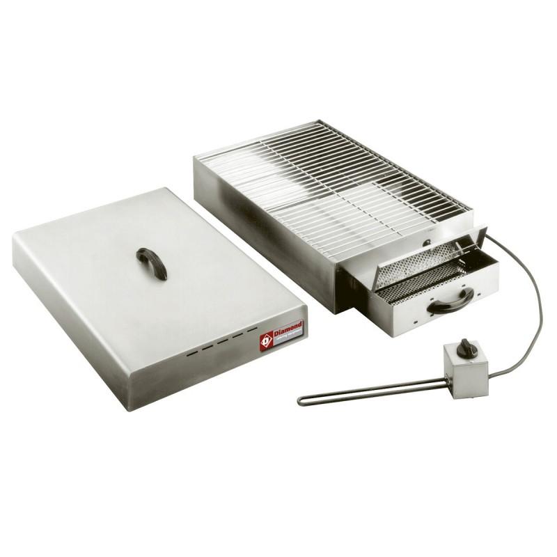 DIAMOND - Fumoir électrique pour aliments 400 x 600 mm - 1 étage
