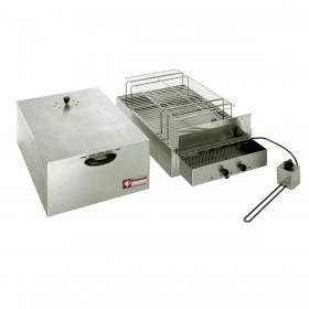 DIAMOND - Fumoir électrique pour aliments, 2 niveaux de cuisson