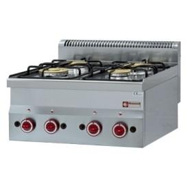 DIAMOND - Table de cuisson Top 4 feux gaz, série 600