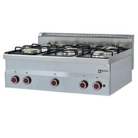 DIAMOND - Cuisinière Top 5 brûleurs gaz, série 600