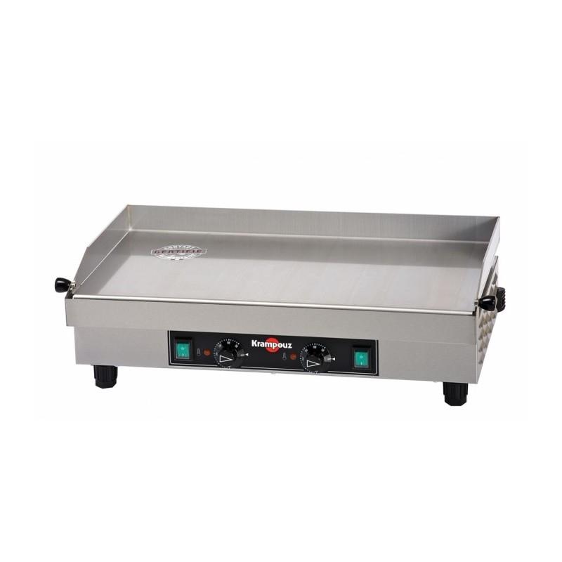 KRAMPOUZ - Plancha électrique - Inox - 640 x 340 mm