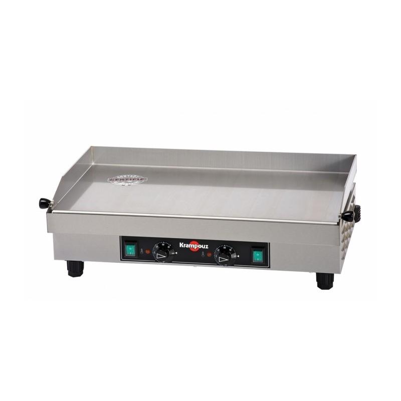 KRAMPOUZ - Plancha électrique inox 640x340 mm