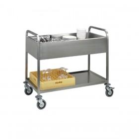 DIAMOND - Chariot de dressage 2 niveaux, capacité 3 GN 1/1