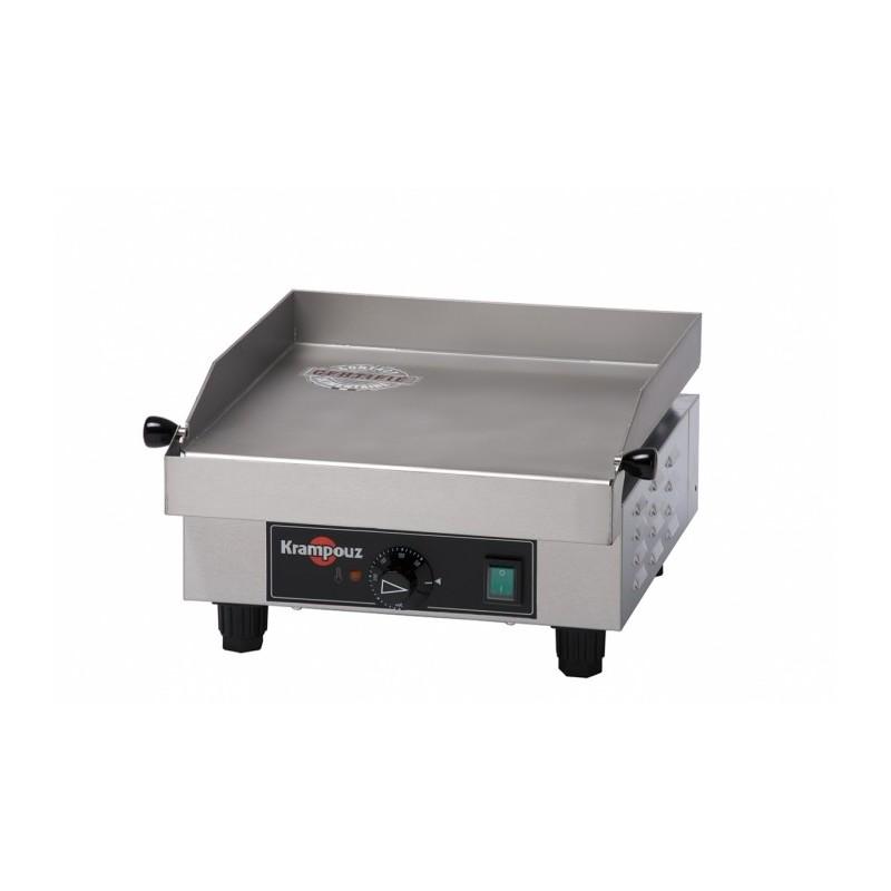 KRAMPOUZ - Plancha électrique - Inox - 340 x 340 mm