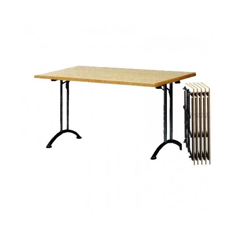 CHR-Avenue - Table de réunion pliante H. 74 cm, 2 coloris