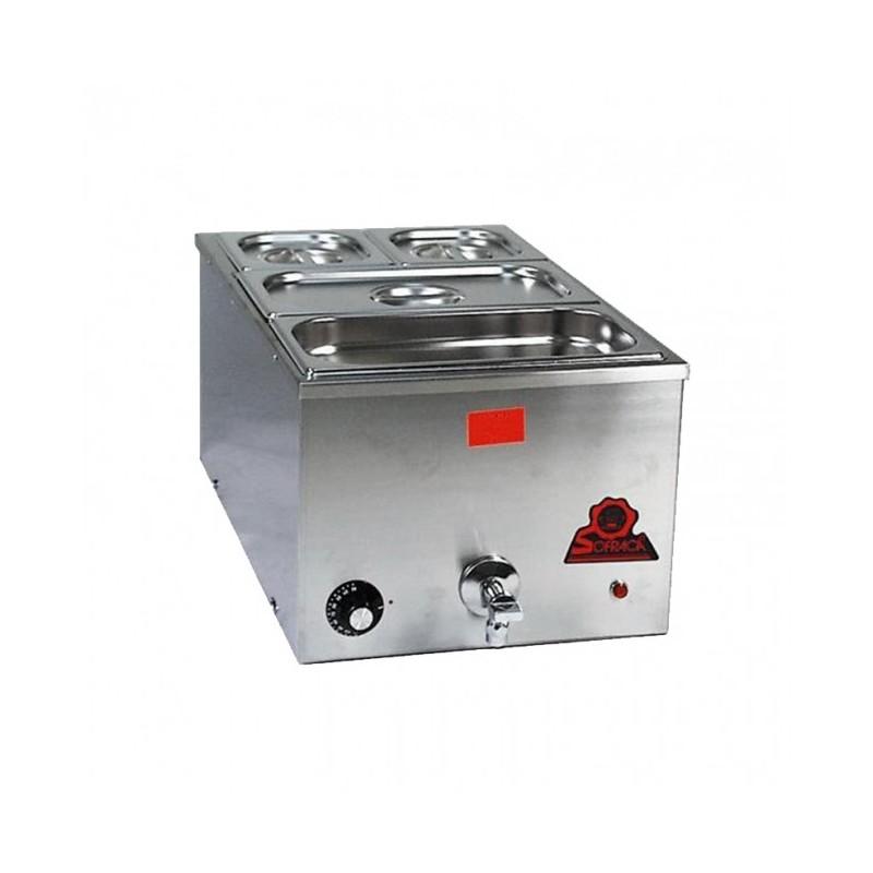 SOFRACA - Bain-marie à chaleur constante, 21 litres