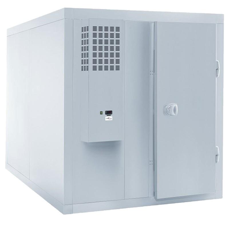 Chambre froide positive ISO 60 avec groupe, capacité 6310 L