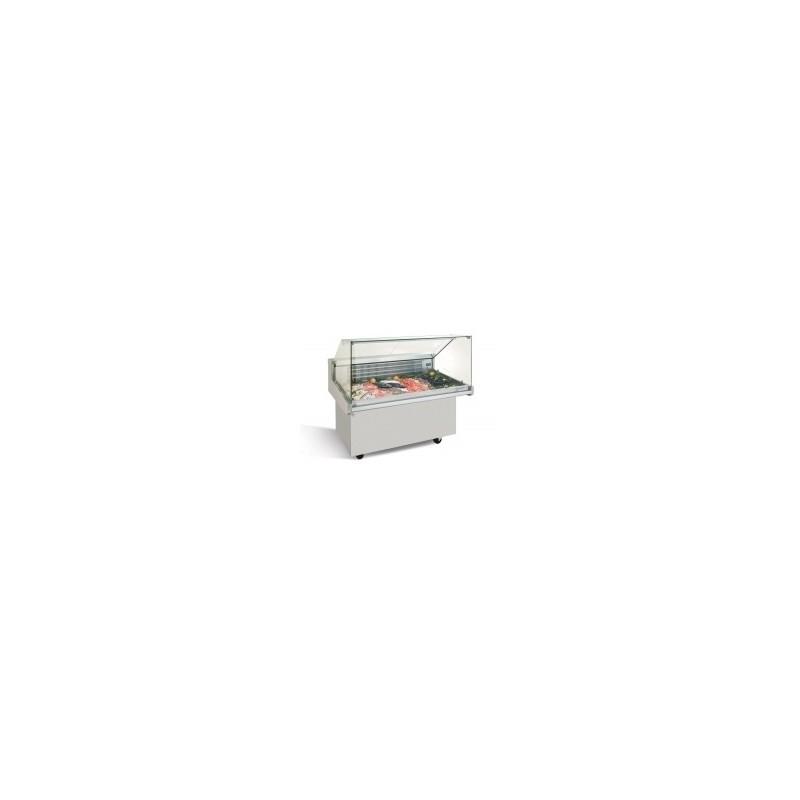 INFRICO - Vitrine réfrigérée pour poisson sur roulettes, série VRP