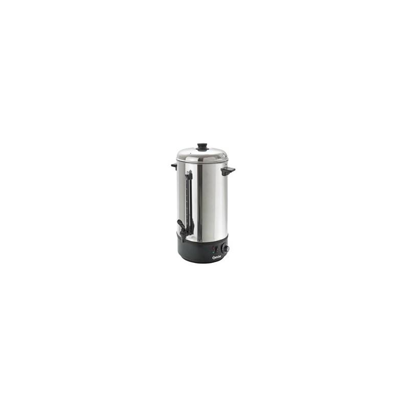 BARTSCHER - Distributeur d'eau chaude - 10 L - Température: 30 °C à 100 °C - Boitier/Couvercle Inox