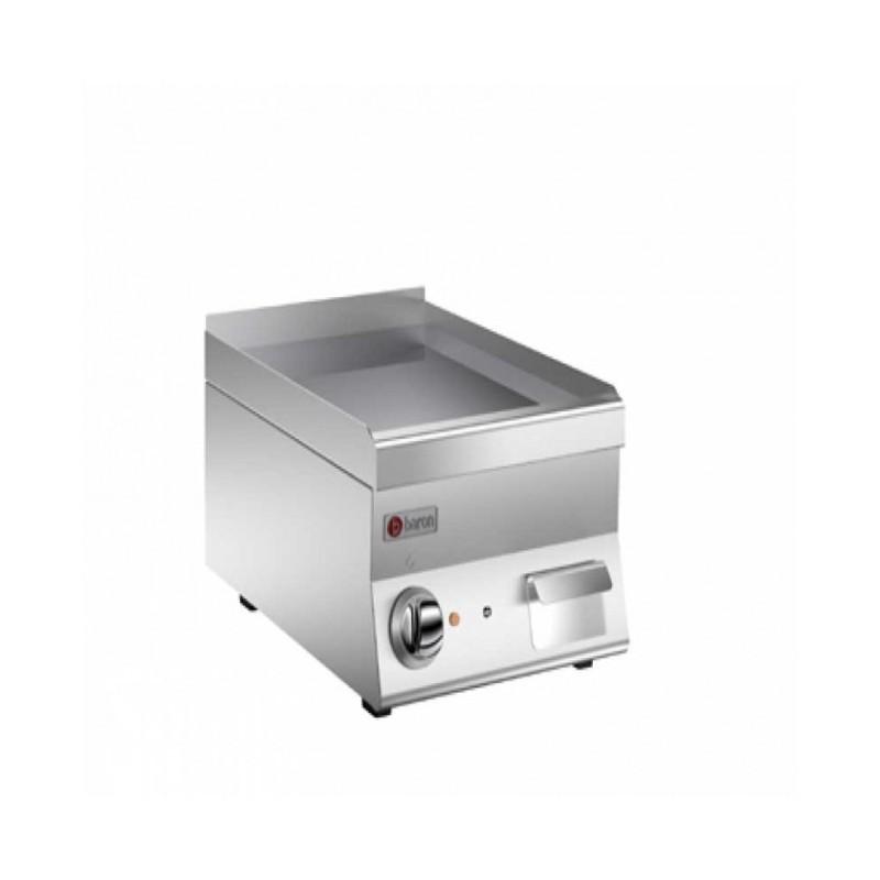 BARON - Grillade électrique, Gamme 650 - plaque lisse de 22 dm²