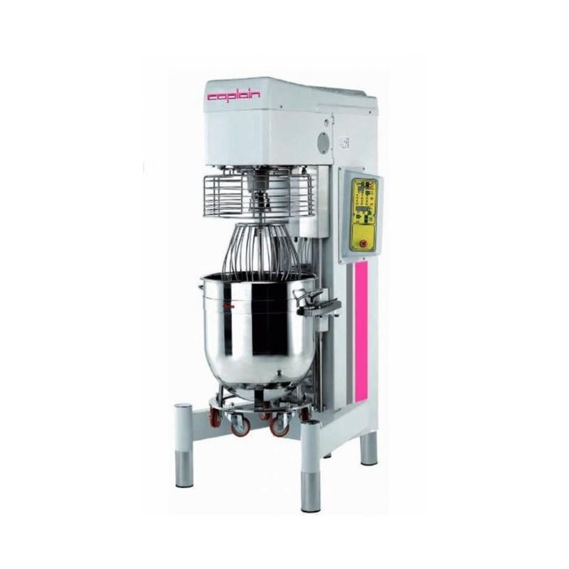 CAPLAIN - Batteur mélangeur 80 litres-variateur de vitesse-Triphasé-