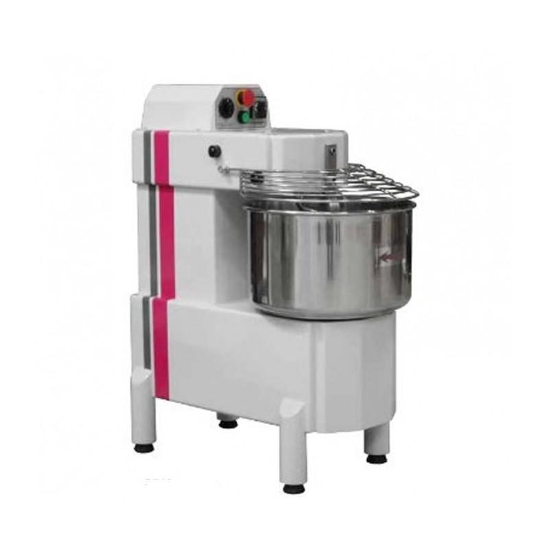 CAPLAIN - Pétrin spirale 50 litres-Tête fixe-2 vitesses-Tri 400 V-