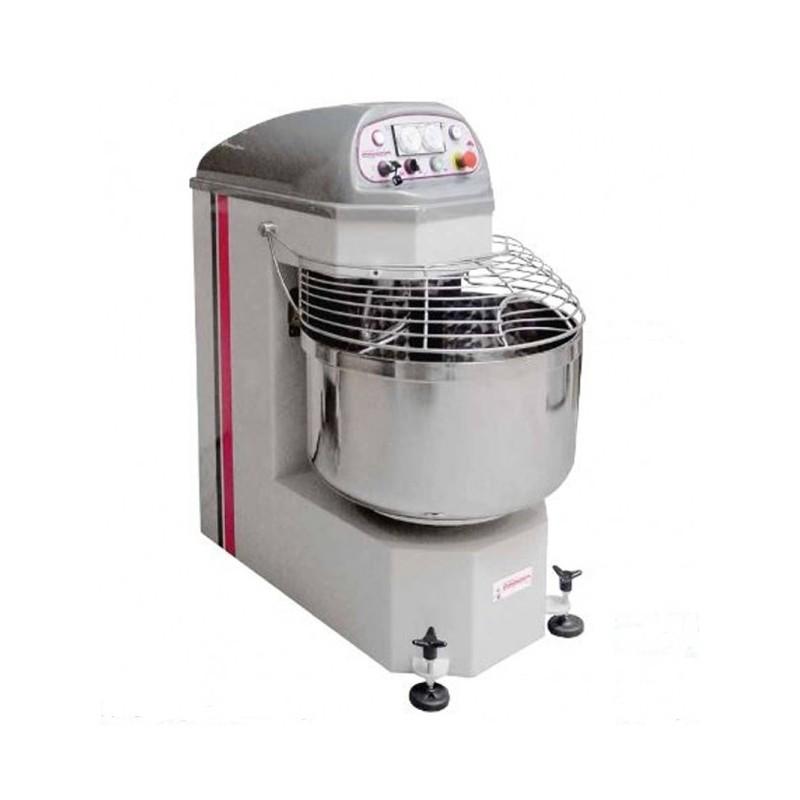CAPLAIN - Pétrin spirale 130 litres-Electromécanique-2 vitesses- TRI 400 V-