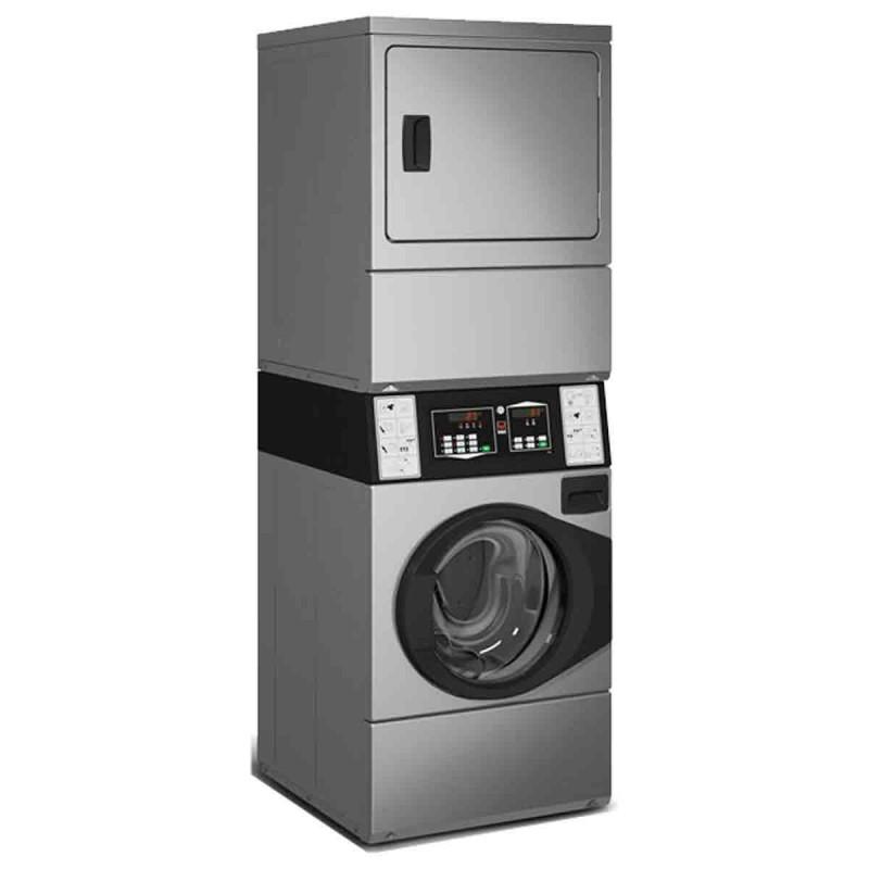Ensemble Lave Linge Seche Linge Inox 10 Kg Pro Pour Collectivite
