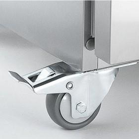 LIEBHERR - Jeu de 4 roulettes diam. 80 mm pour armoire froide