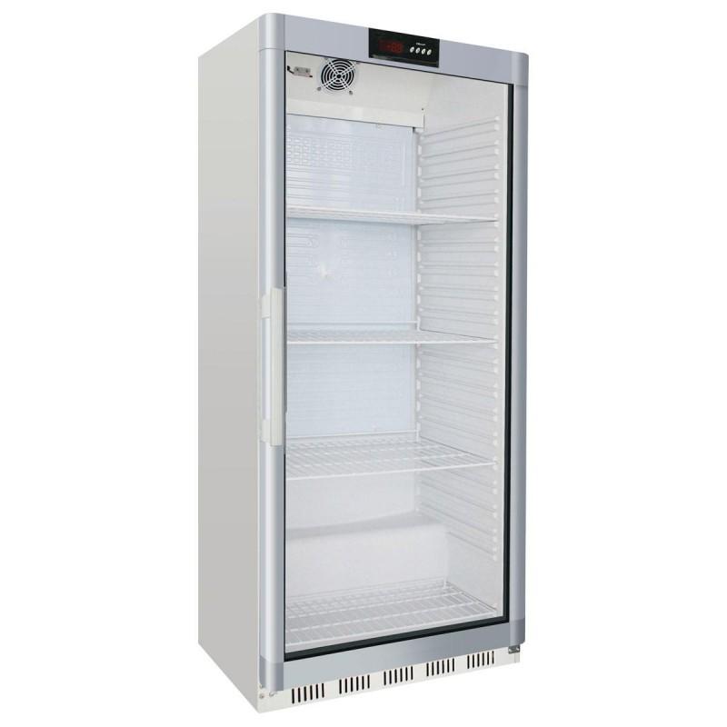 CHR-AVENUE- Armoire réfrigérée vitrée 600 L blanche