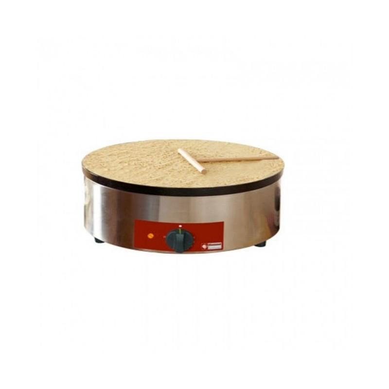 DIAMOND - Crêpière simple électrique haut rendement, Ø 400 mm