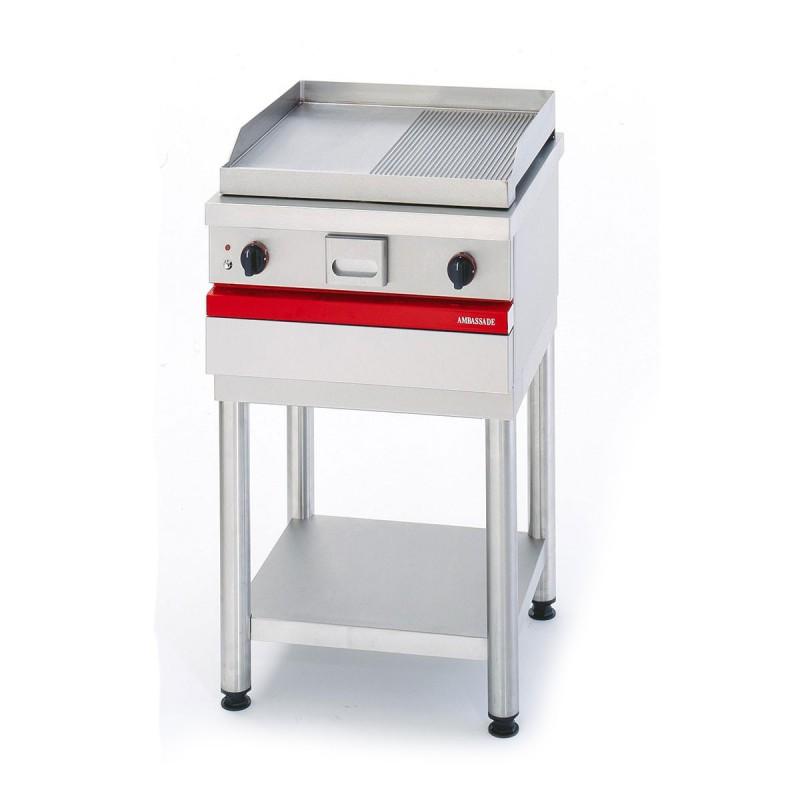 AMBASSADE - Grill électrique de table, acier mi lisse 567 x 495 mm