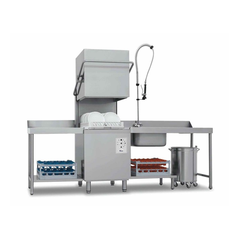 CHR AVENUE - Lave-vaisselle électronique à capot, surchauffeur 8 kW
