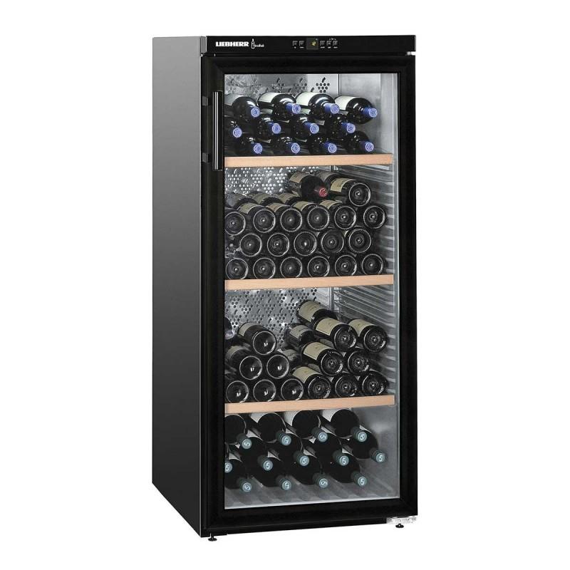 LIEBHERR - Cave à vin 164 bouteilles porte vitrée