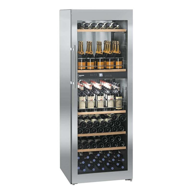 LIEBHERR - Armoire à vin 155 bouteilles WTpes 5972 CHR