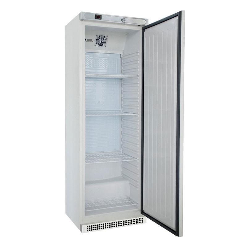 CHR AVENUE - Armoire froide positive blanche 400 L, 1 porte pleine