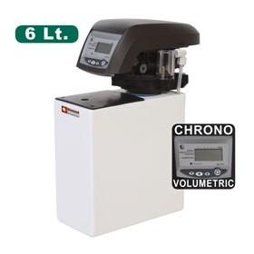 Diamond - Adoucisseur d'eau chrono-volumétrique - 6 L monobloc