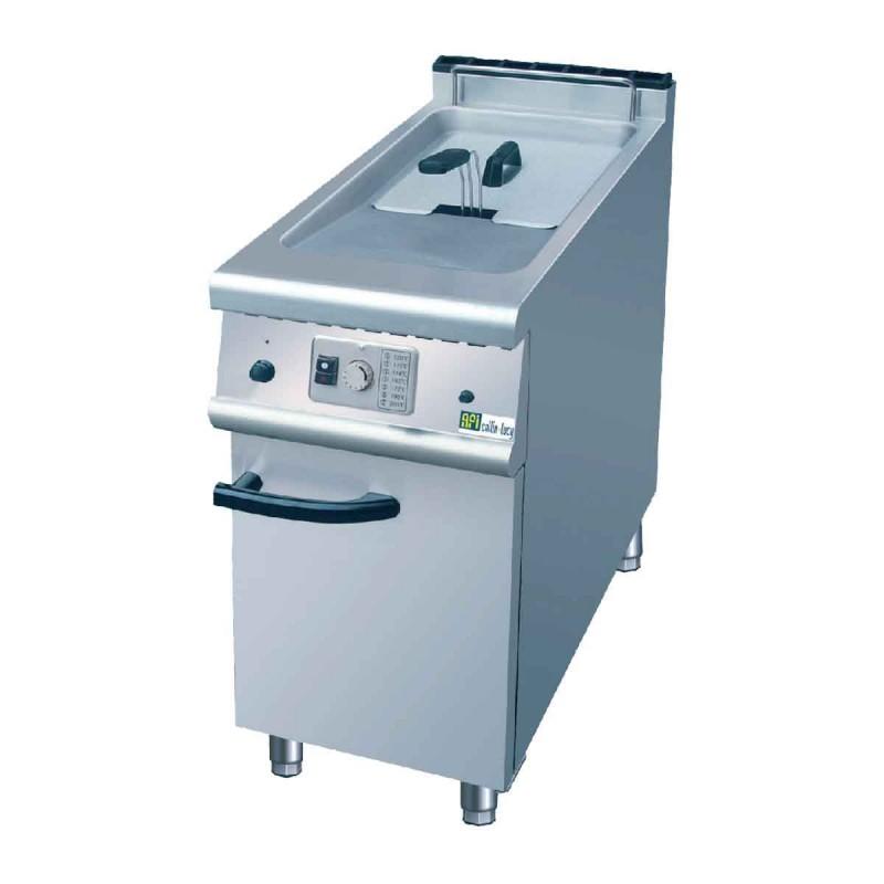 CHR-AVENUE - Friteuse professionnelle gaz sur coffre, 1 cuve 21 L