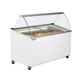 TECFRIGO - Présentoir à glaces, froid statique 5 ou 7 bacs