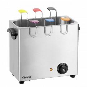 Cuiseur à oeufs 4L inox 6 supports couleurs différentes
