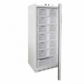 L2G - Armoir réfrigérée blanche, -18/-22°C, GAZ R600A