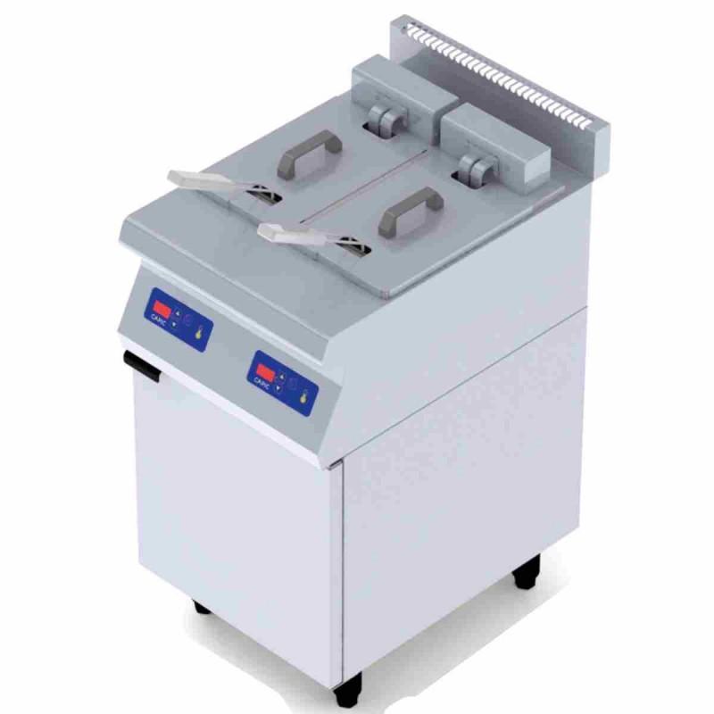 CAPIC - Friteuse électrique professionnelle 2x8 L gamme Aven