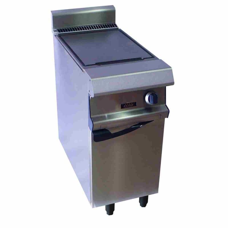 CAPIC - Plaque de cuisson fonte lisse électrique sur étuve 400 mm (largeur) - Celtic