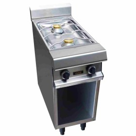 CAPIC - Table à gaz 2 feux nus, 400 mm, sur placard - Celtic