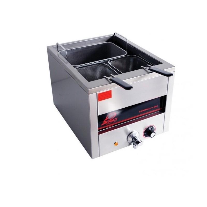 SOFRACA - Cuiseur à pâtes électrique, capacité 15 L, 1+2 paniers