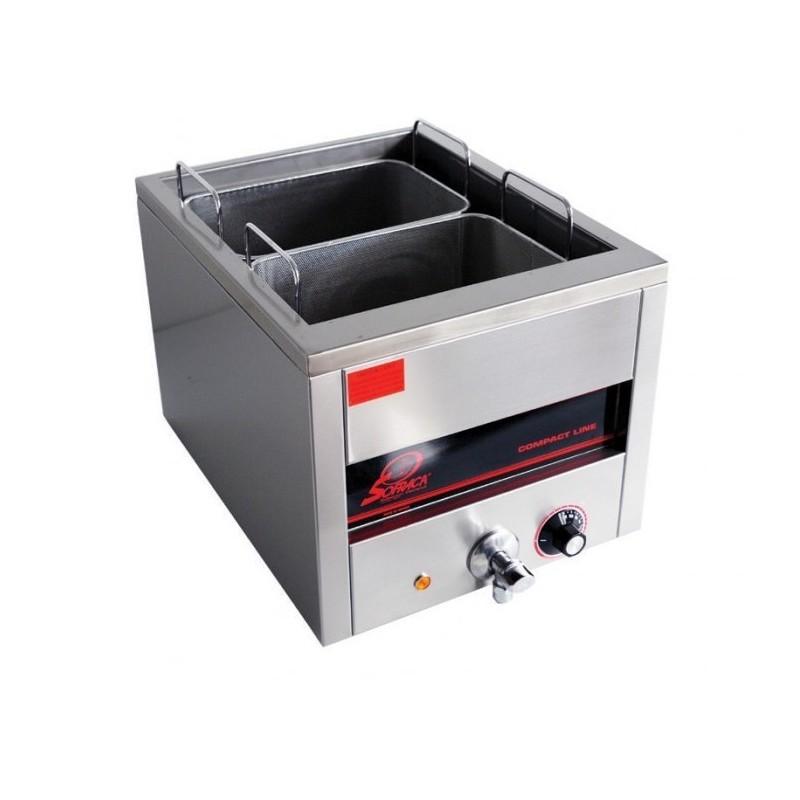 SOFRACA - Cuiseur à pâtes électrique, capacité 15 L - 2 paniers