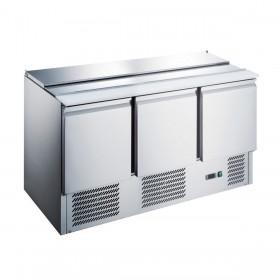 CHR-AVENUE - Saladette réfrigérée 3 portes