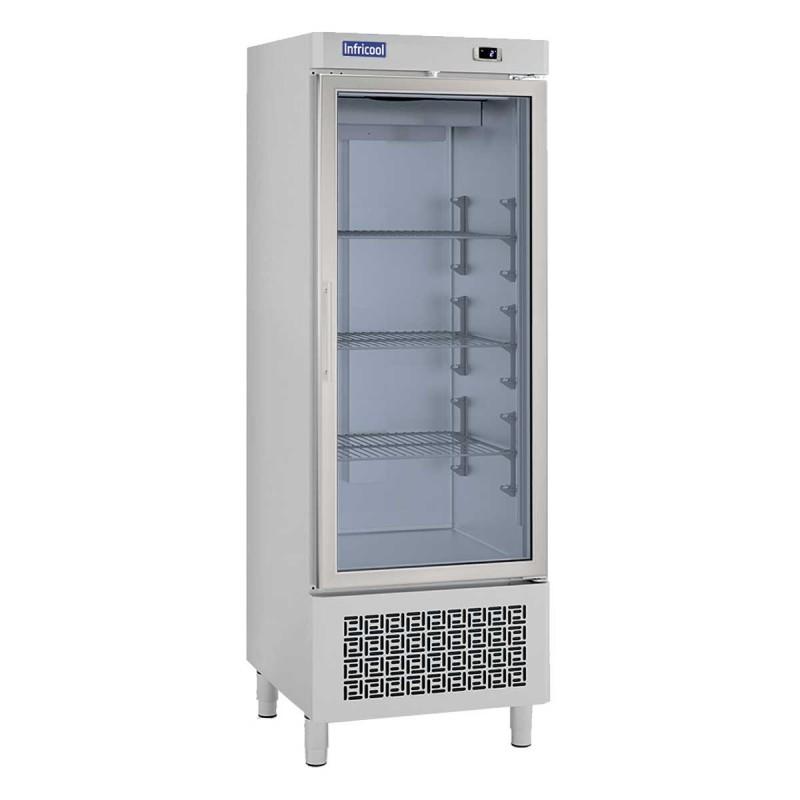 INFRICOOL - Armoire réfrigérée 1 porte vitrée - 500 L
