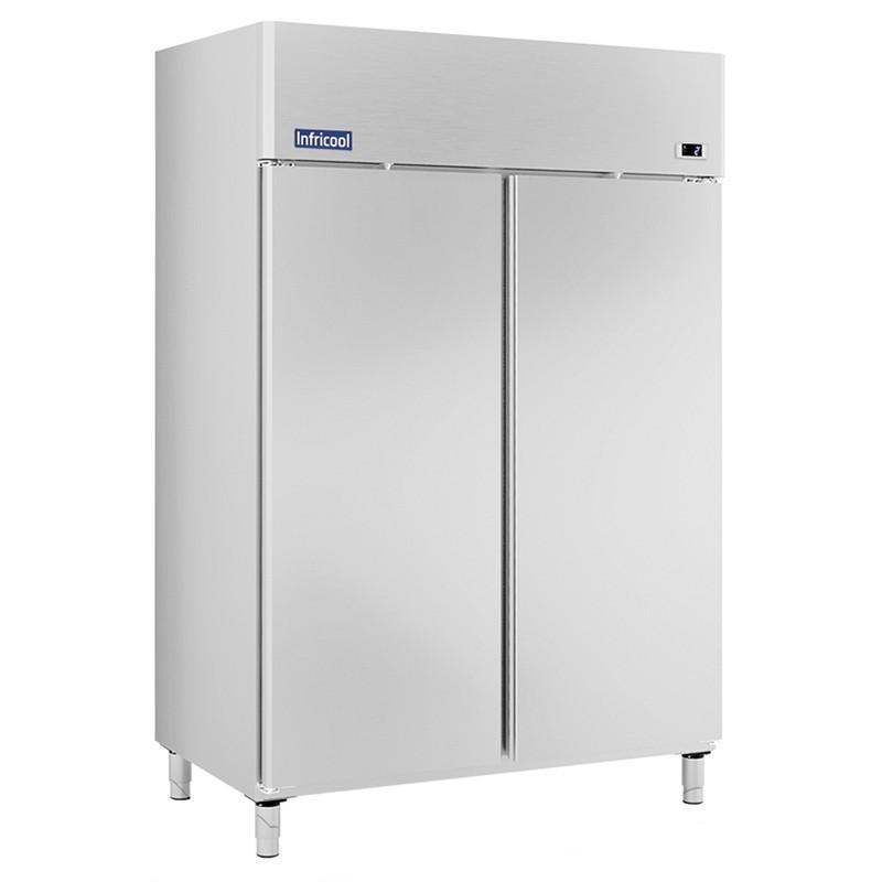 INFRICOOL - Armoire réfrigérée 1340 L, 2 portes pleines GN 2/1
