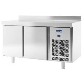Table réfrigérée 2 portes - Avec dosseret