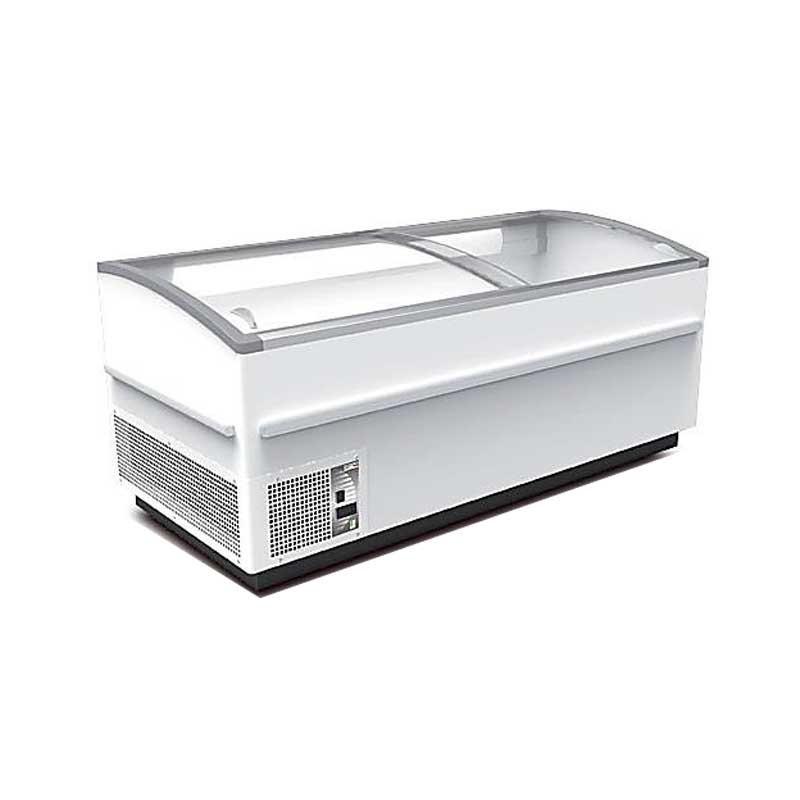 MONDIAL ELITE - Gondole vitrée modulable, multi-températures, LED
