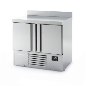 INFRICO - Mini saladette réfrigérée GN 1/1, 2 portes - série 700