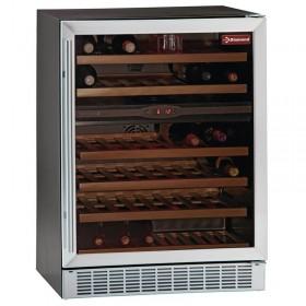 DIAMOND - Vitrine cave à vins 2 zones de température 160 L
