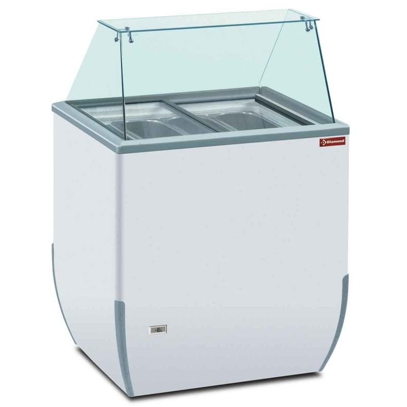 Vitrine pour crèmes glacées 170 L - BRIO ICE