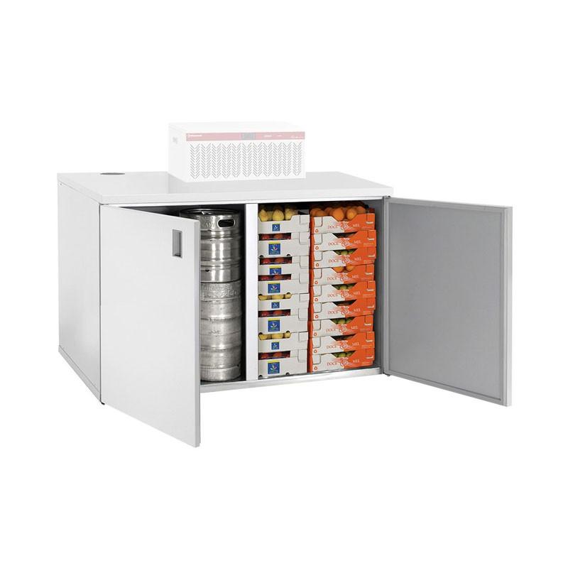 DIAMOND - Armoire basse frigorifique de stockage, 1400 ou 1800 L